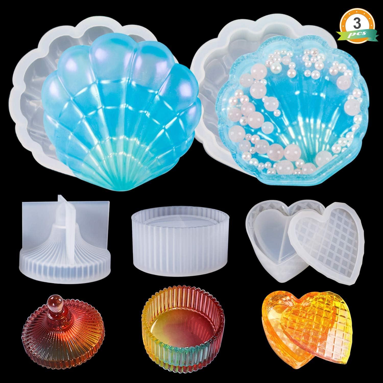 Shells Silicone mold