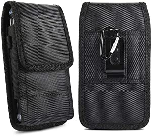 Universal Case for 5.8~6.5 inch Smartphone Pouch Case, Clip-on Holster Belt Clip Carrying Case for iPhone X iPhone Xs iPhone XR iPhone 11 iPhone 11 Pro/iPhone 8 7 6 Plus and More