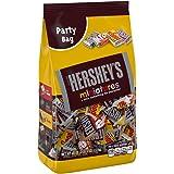 HERSHEY'S Chocolate Candy Assorted Miniatures, Krackel, Mr. Goodbar & Hershey's Special Dark Chocolate, Party Bag, 40oz.