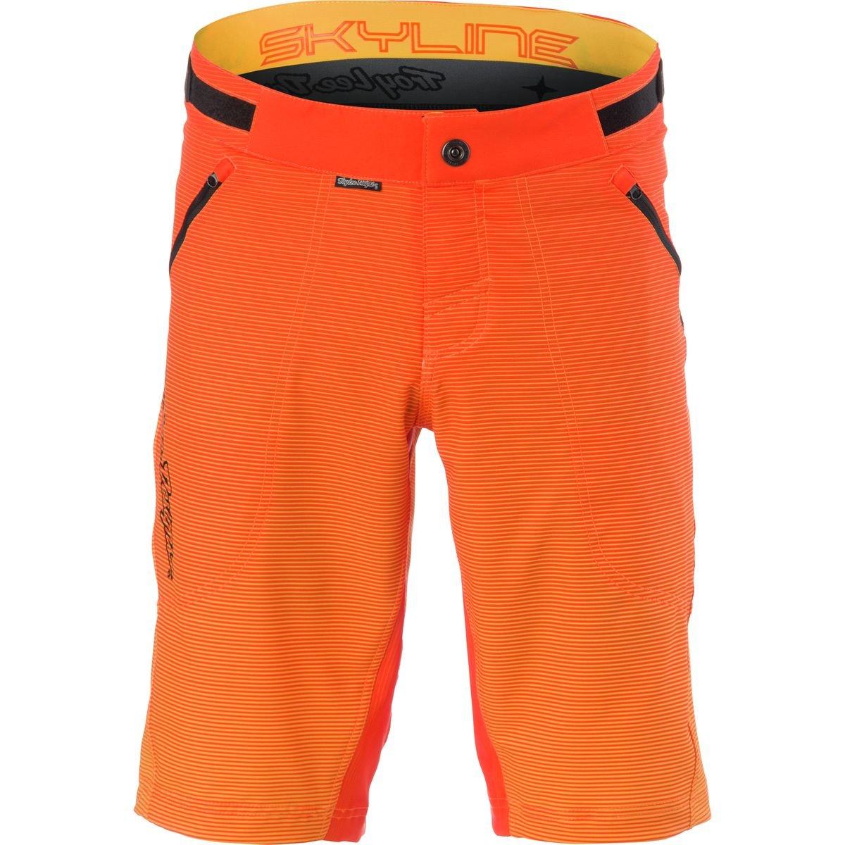 Troy Lee Designs Skyline Dissolve Men's BMX Bicycle Shorts - Orange