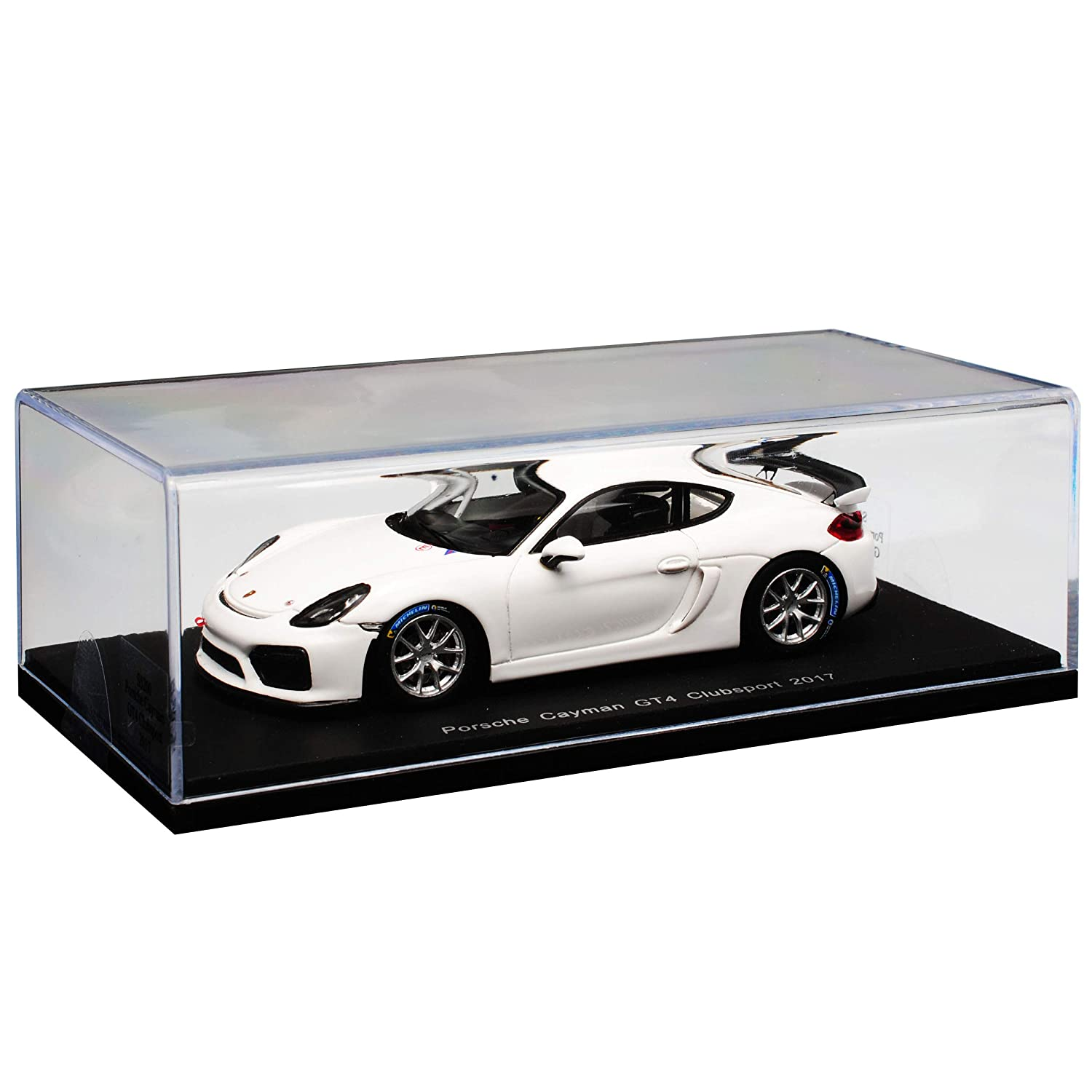 Spark Porsche Cayman 981 GT4 Clubsport Coupe Weiss Ab Ab Ab 2015 1/43 Modell Auto cd5723
