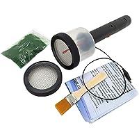 Amagogo Flocking Kit Static Grass Applicator with 1-5mm/ 6-12mm Netcovers & Antiskid Handle for DIY Scenic Modelling…
