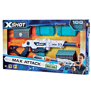 Grandes Juegos Espejo MAX Attack 96 Dardos, Multicolor, gg-46022