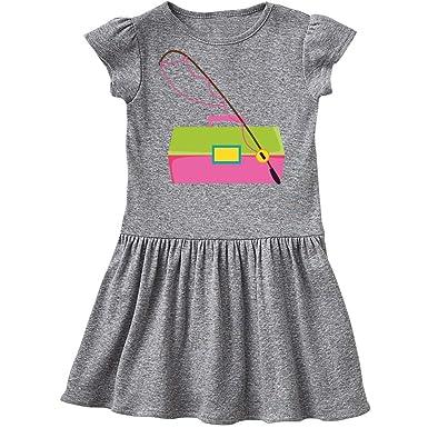 0c7be459 Amazon.com: inktastic - Fishing Tackle Girls Infant Dress: Clothing