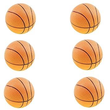 6 Piezas Mini Baloncesto Hinchable de EVA Seguro Juguete de ...