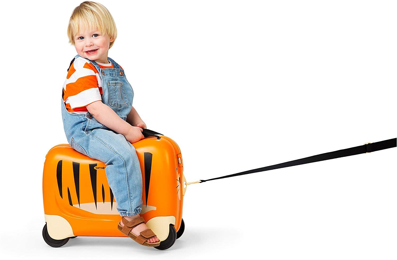 28 L 51 cm Tiger Toby Orange Kindergep/äck Samsonite Dream Rider