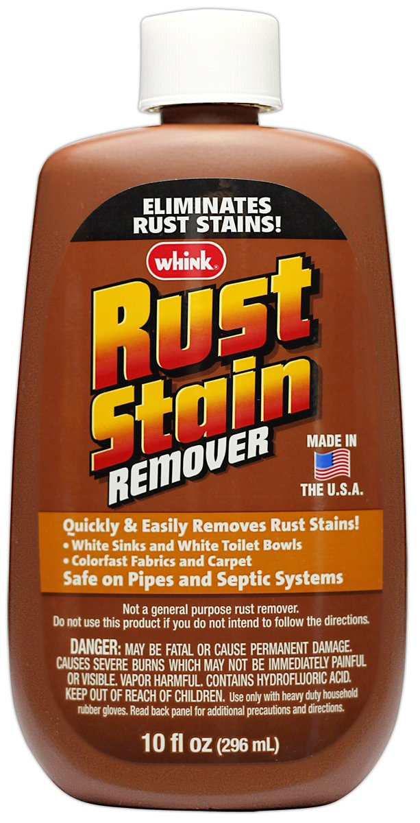 Whink Rust Stain Remover, 3 Count, 10 Ounce by Whink