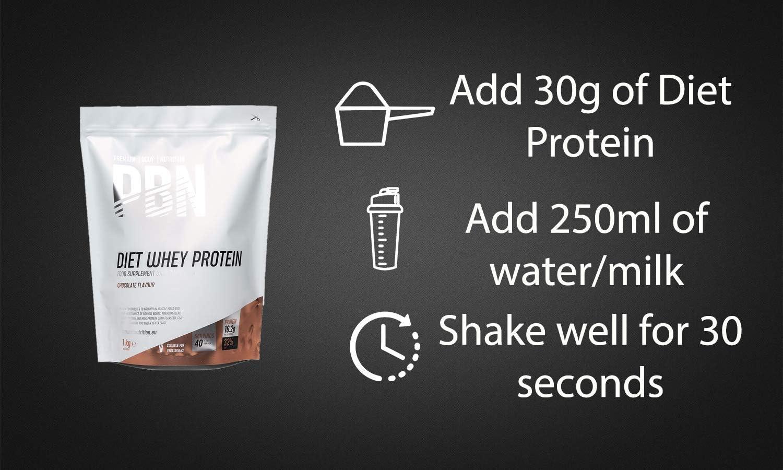 PBN - Premium Body Nutrition PBN - Paquete de proteína de suero de leche light, 1 kg (sabor vainilla)
