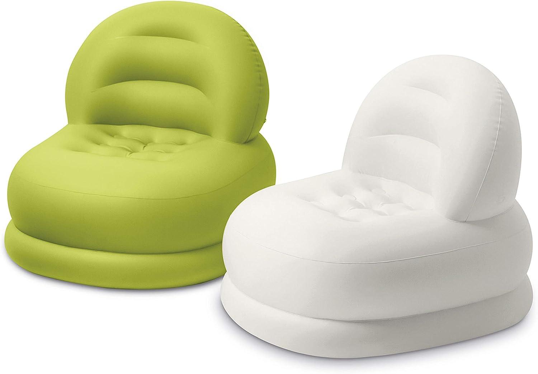 Intex Home Sessel Fashion 84 X 99 X 76 Cm Polyester Farblich Sortiert Küche Haushalt