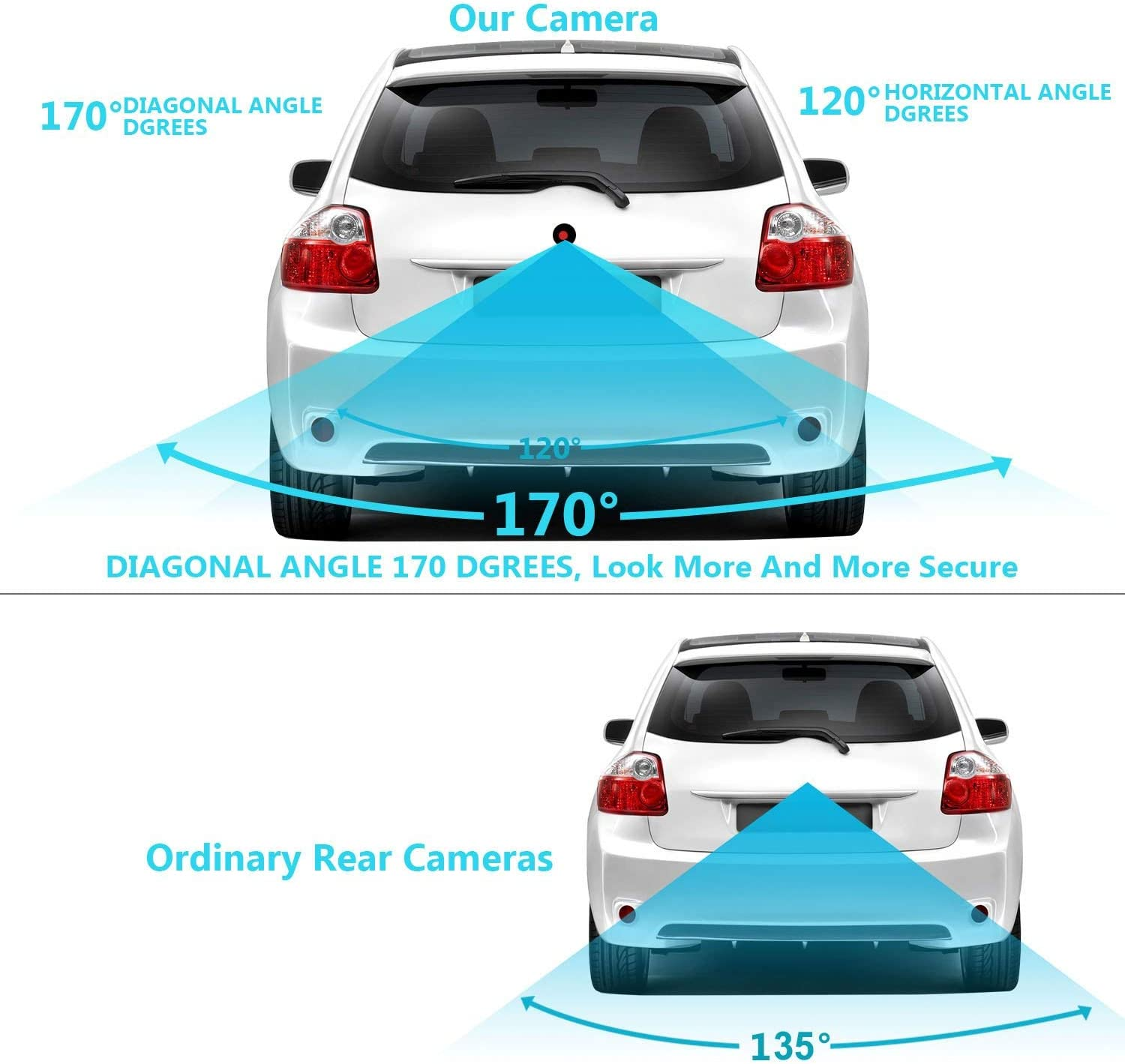 Upgraded Reversing Camera 1280x720p Camera Integrated in Number Plate Light License Rear View Backup camera for Mercedes Benz A B Class Series B200 W245 A160 W169 2005~2011