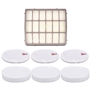 3 Pack Filters for Shark Navigator Professional (NV70, NV80, UV420) & Shark Rotator Professional XL Capacity (NV90, NV95) - XFF80 XHF80 By Artraise
