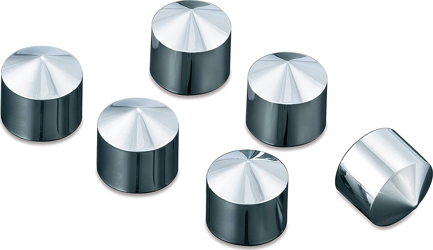 Peaked Rocker Box Bolt Cover Caps for 1999-2019 Harley-Davidson Motorcycles Pack of 4 Kuryakyn 8372 Motorcycle Accent Accessory Chrome
