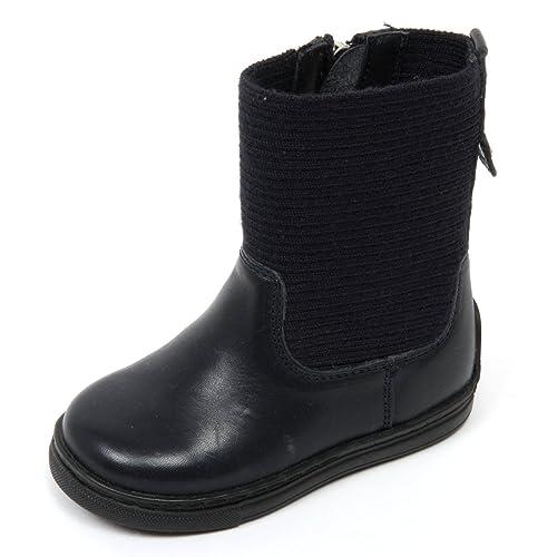 C6958 stivaletto bimba ARMANI JUNIOR scarpa blu scuro boot shoe kid  21    Amazon.it  Scarpe e borse 45744a7c354