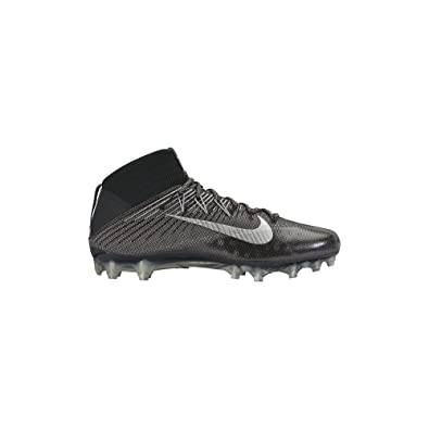 size 40 50370 0a3d5 Image Unavailable. Image not available for. Color Nike Mens Vapor  Untouchable 2 Football Cleat BlackAnthraciteMetallic Silver ...