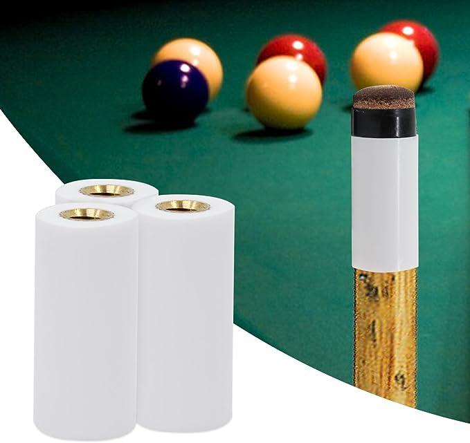 KEESIN 13 mm Tornillo-en Ferrules Sugerencias de Cuevas Reemplazo de billar para Pool Cues Tip Pack de 10: Amazon.es: Deportes y aire libre