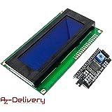 AZDelivery HD44780 2004 LCD Display Bundel 4x20 tekens met I2C interface voor Arduino met eBook!