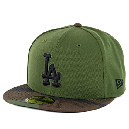 Image Unavailable. Image not available for. Color  New Era 5950 Los Angeles  Dodgers Fitted Hat ... 5762a87df942