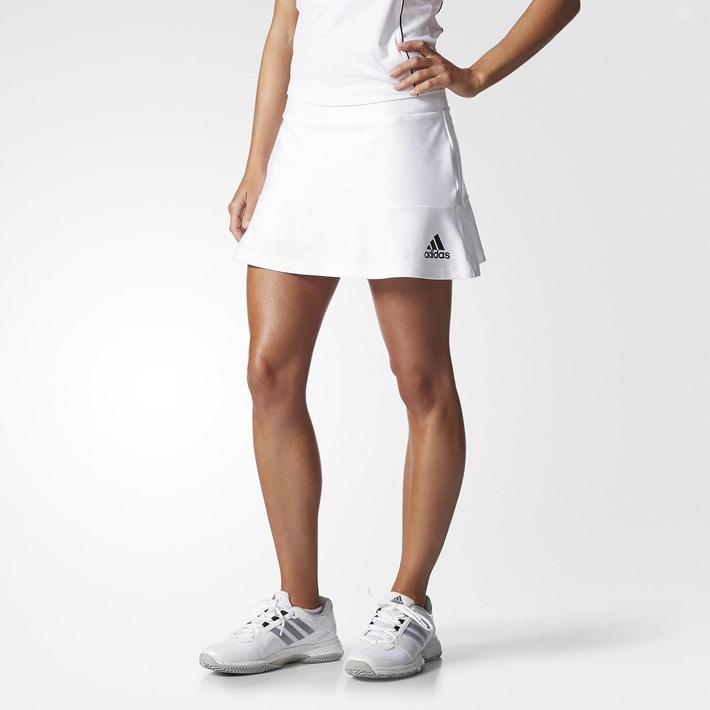 adidas para Mujer Rock All Premium Falda Pantalón Rock Blanco ...