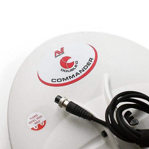 DETECTOR CERCAMETALLI PLACA DE METAL 15 X 12 MINELAB COMMANDER