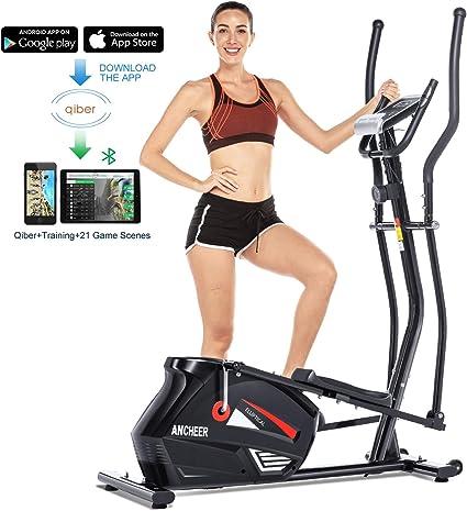 Ancheer máquina elíptica entrenadora elíptica máquina de ejercicio ...