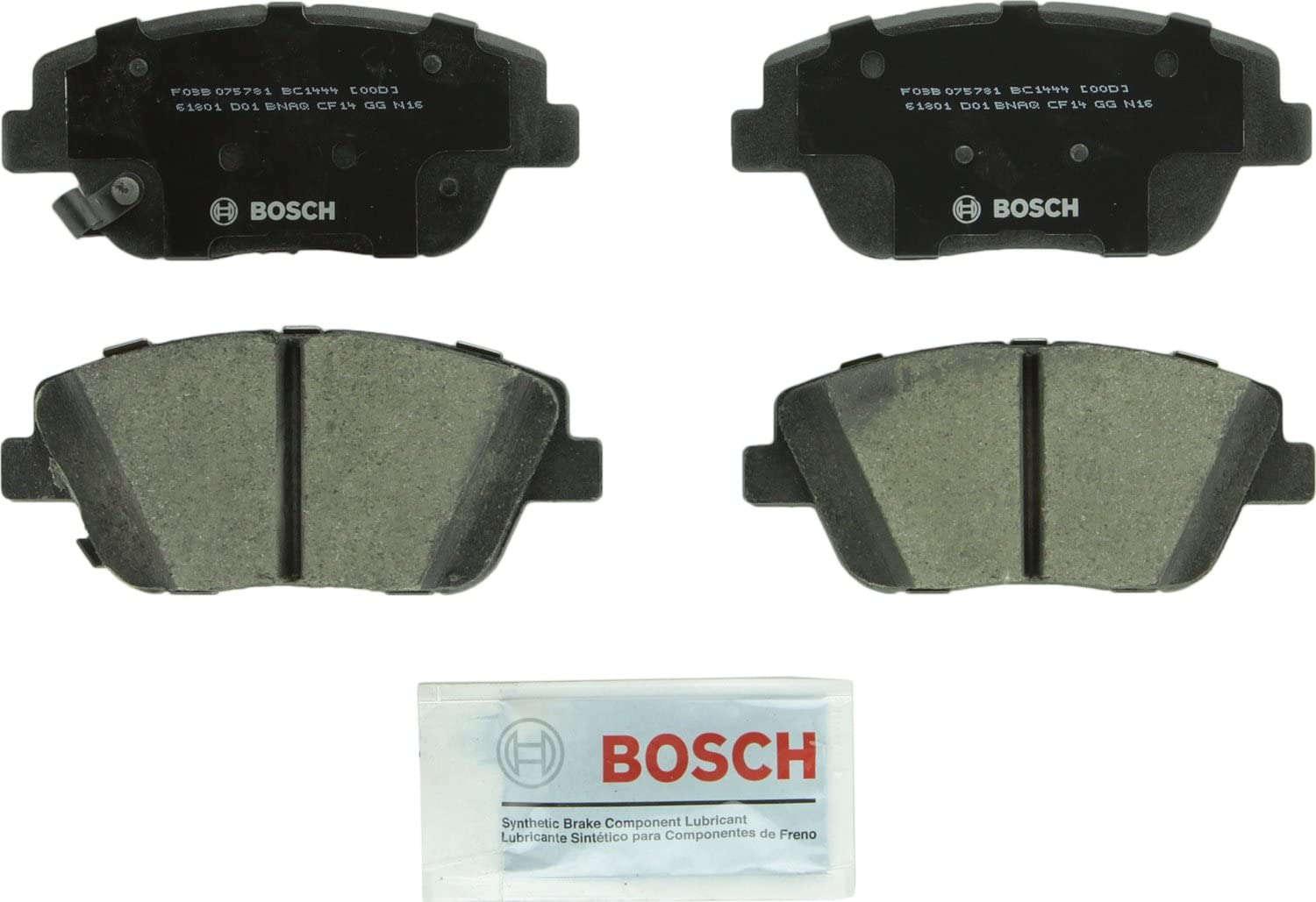 V-Trust Premium Quality Ceramic Brake Pads REAR FOR 2010 KIA OPTIMA