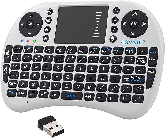 eSynic Mini teclado inalámbrico 2.4G y combinación de mouse ...