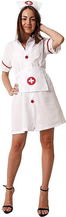 Costumizate! Disfraz de Enfermera Adulta Especial para Fiestas de ...