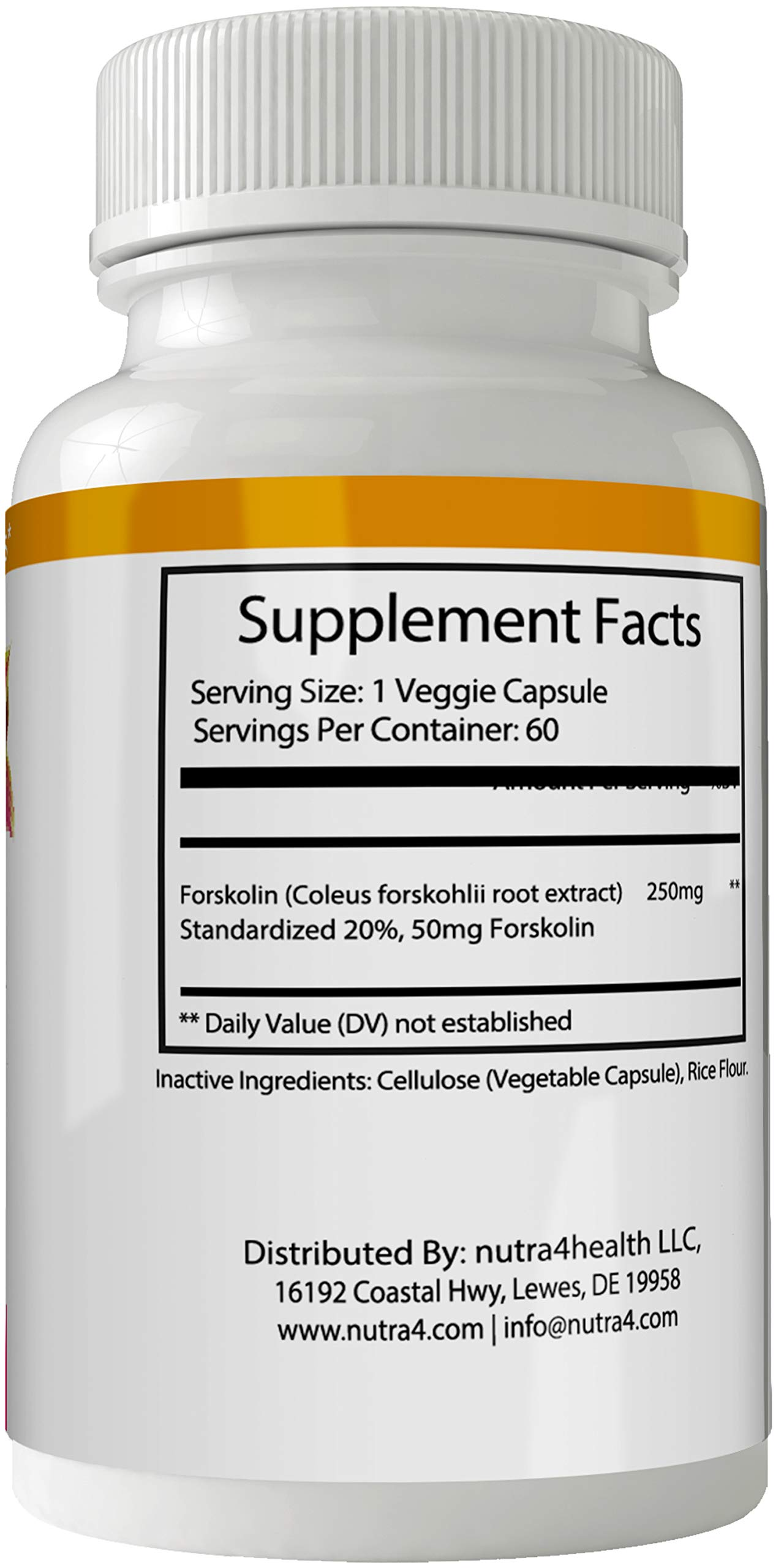 True Trim Forskolin for Weight Loss Pills Tablets Supplement - Capsules with Natural High Quality Pure Forskolin Extract Diet Pills by nutra4health LLC (Image #2)