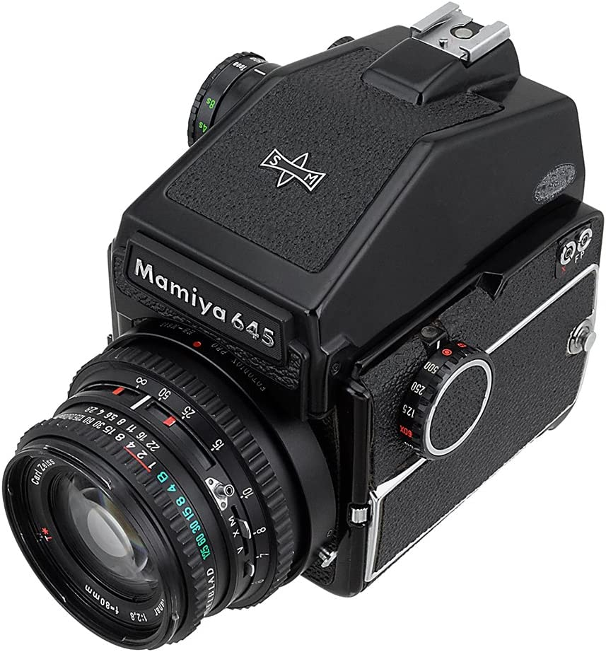 M645 1000s 645AFD II 645AF M645 PRO 645E 645AFD III Hasselblad Lens to Mamiya 645 Camera Fotodiox Pro Lens Mount Adapter for Mamiya ZD