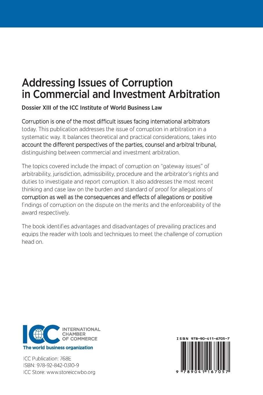 Addressing issues of corruption in commercial and investment arbitration graham speculative investing