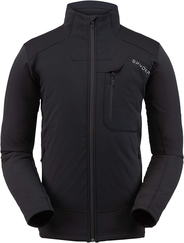 Light Full-Zip Insulator Spyder Men/'s Ascender Gore-Tex Infinium Fleece Jacket