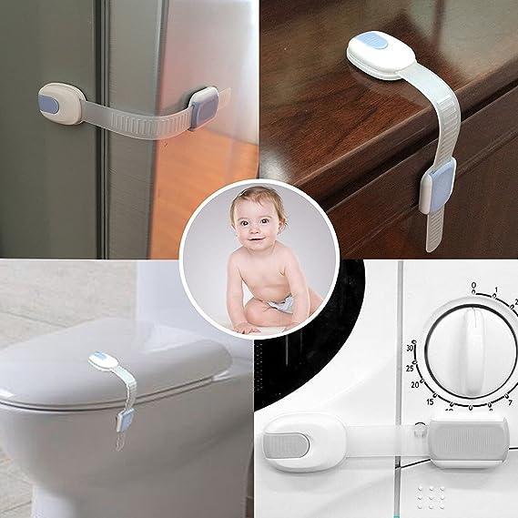 Candados de seguridad para bebé/niño, armarios a prueba de bebés ...