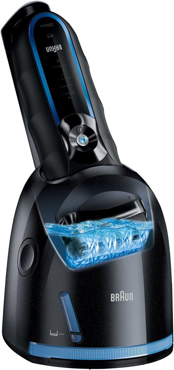 Braun Afeitadora Series 3 350 cc-4, Negro/Azul: Amazon.es: Belleza