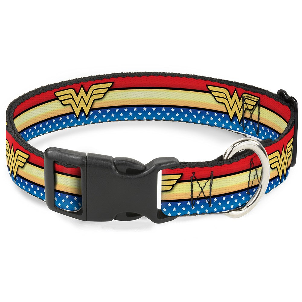 Buckle-Down Wonder Woman Logo Collar Large