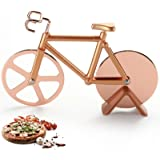 Pizza Cutter Wheel, Quality Stainless Steel Pizza Slicer, Bicycle Pizza Cutter, Bicycle Pizza Slicer Cutter Wheel With a…