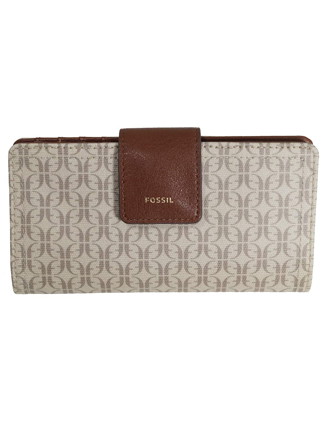 Fossil Logan RFID Tab Embrague Taupe: Amazon.es: Zapatos y ...