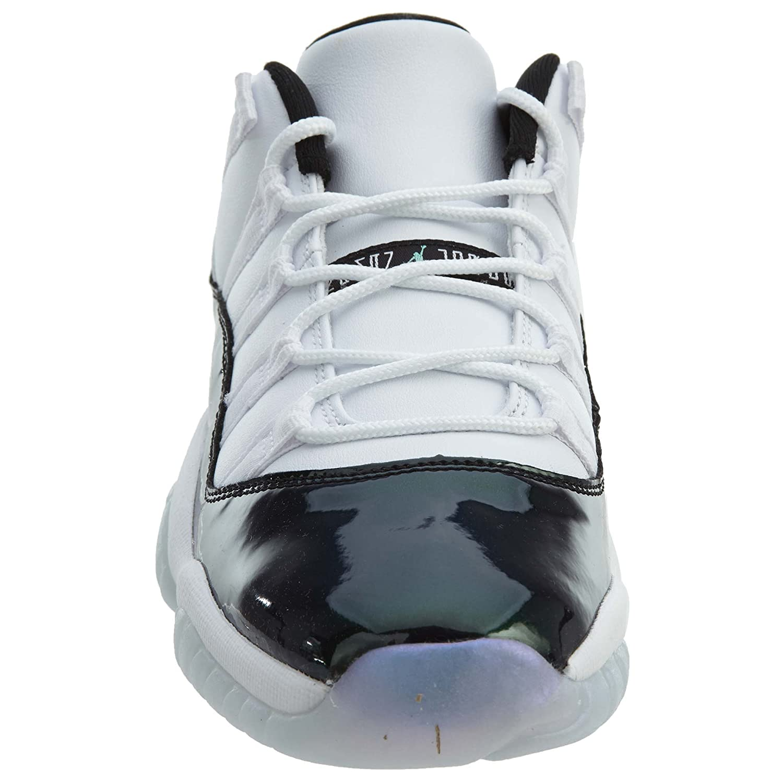 c86e7b87e6ed09 Nike Air Jordan Retro 11 Low Emerald Grade School Basketball Shoe (6.5)   Buy Online at Low Prices in India - Amazon.in