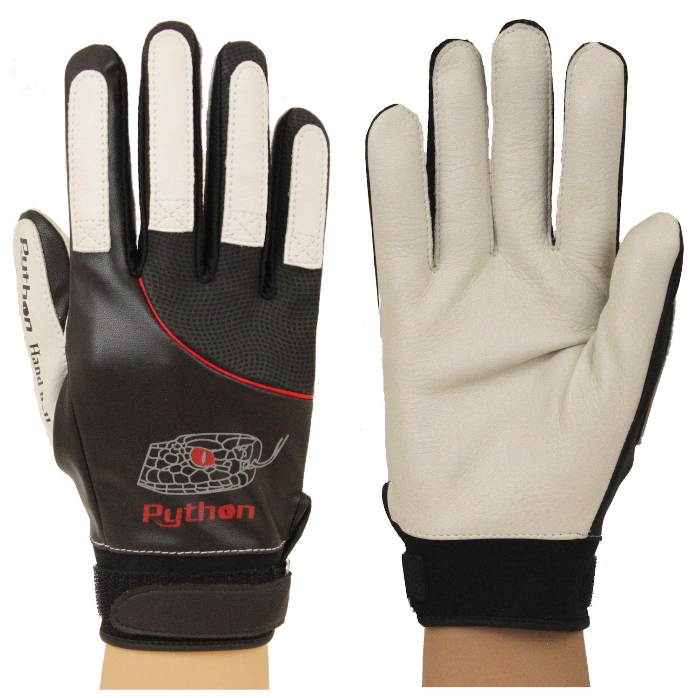 Pair Python Deluxe Handball Glove Small-X-Large Unpadded w//Strap