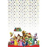 Super Mario Bros- Party Mantel, talla estadounidense (Amscan