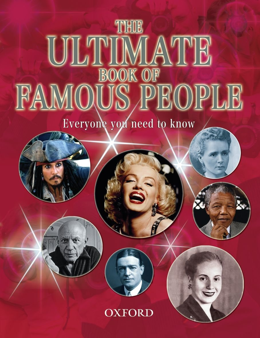 The Ultimate Book of Famous People: Peter Aykroyd: 9780199135257:  Amazon.com: Books