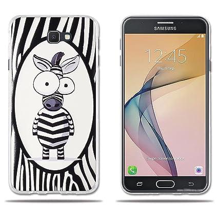 Amazon.com: Samsung Galaxy J7 Prime funda, silicona suave ...