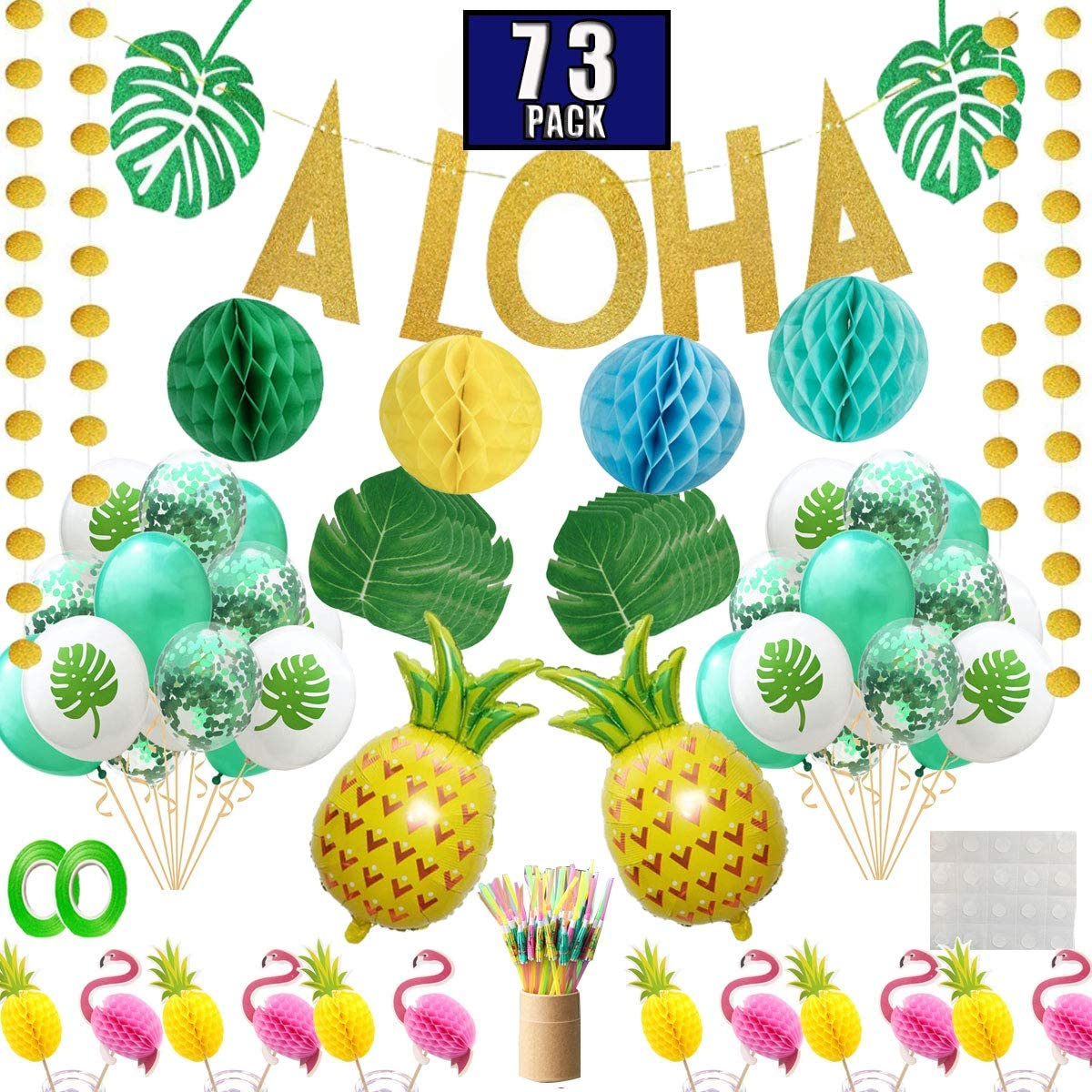 Party Nice Hawaiian Aloha Party Decorations For Luau Party Supplies Favors