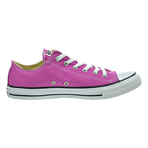 1a3847598e34 Image Unavailable. Image not available for. Color  Converse Unisex Chuck  Taylor All Star Low Top Plastic Pink Sneakers - US Men ...