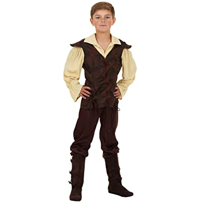 Boys Renaissance Squire Costume: Clothing