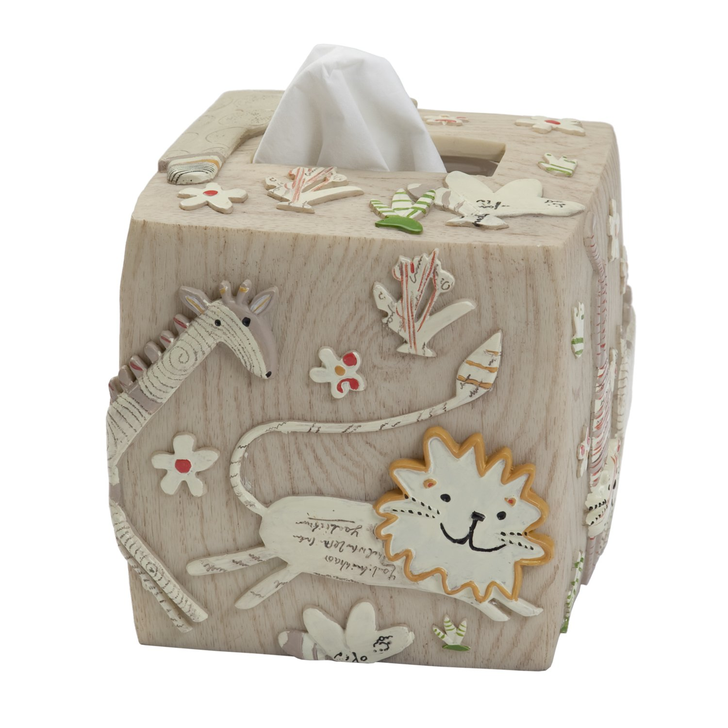 Creative Bath Products Animal Crackers Tissue Cover