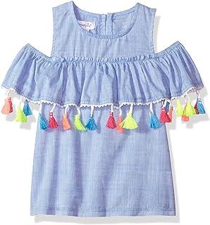 444db2760 Amazon.com  Mud Pie Baby Girls  Ivory Ric Rac Dress  Infant And ...