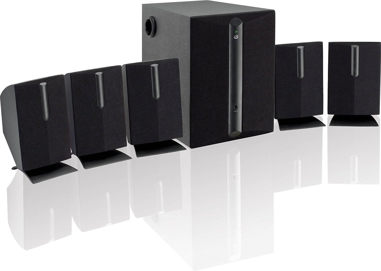 GPX HT050B 5.1 Channel Home Theater Speaker System Renewed Black