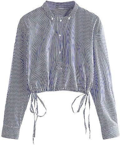 Ropa para Mujer Tops Camiseta Blusas Impresa Otoño 2018 Raya Manga Larga Joven: Amazon.es: Ropa y accesorios