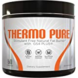 THERMO PURE – Stimulant Free Natural Fat Burner, Caffeine Free Appetite Suppressant for Weight Loss & Diet Pills For Women, 60 Veggie Capsules/ 30 Day Supply
