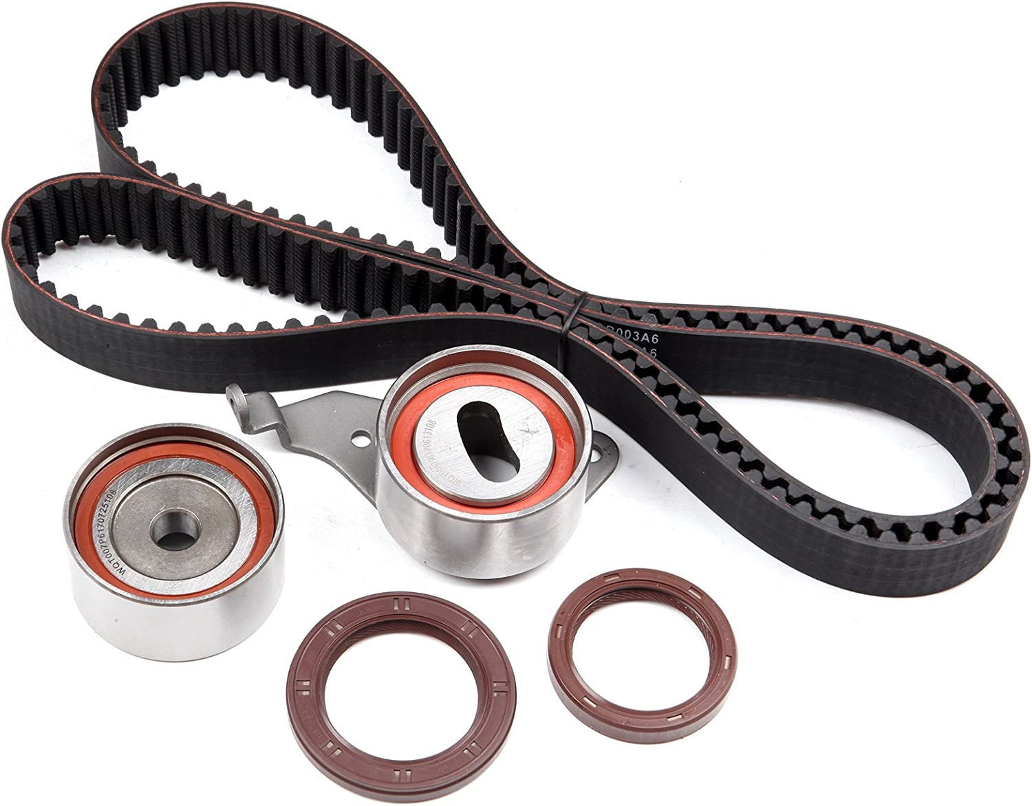 SCITOO Timing Belt Kit w//o Water Pump fit 87-91 Toyota Camry 00-01 Camry 2.0L 2.2L